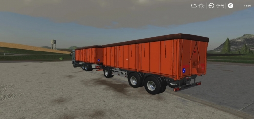 Photo of FS19 – Man Grain Carrier-Rework V0.5