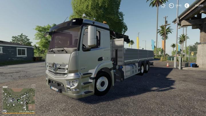 FS19 - Mercedes Antos V1
