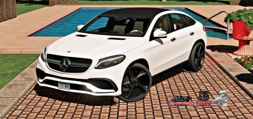 Photo of FS19 – Mercedes Gle Coupe V1.1