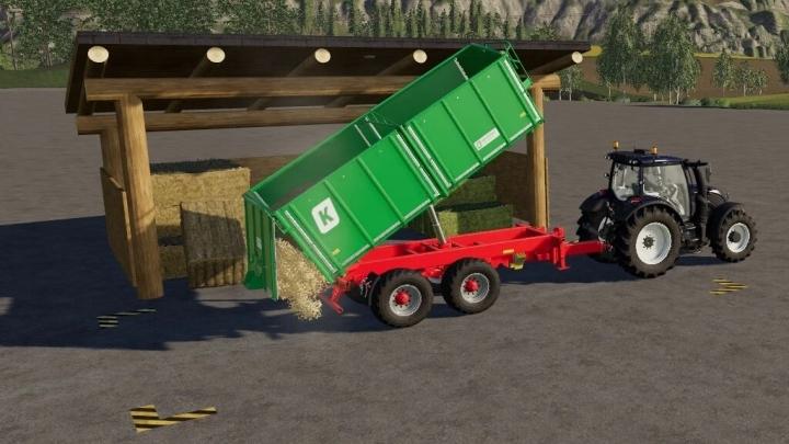 FS19 - Mini Log Barn V1