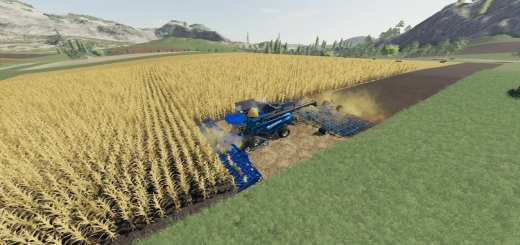 Photo of FS19 – New Holland Cr1090 Maxi 2In1 V1.1
