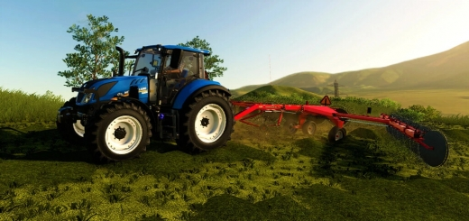 Photo of FS19 – New Holland T5 Series Us V1.0.0.1