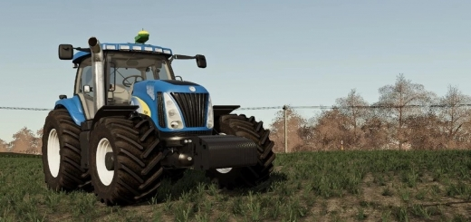 Photo of FS19 – New Holland Tg/T Serie V1.0