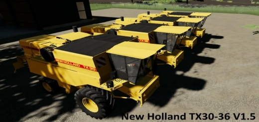 Photo of FS19 – New Holland Update Tx30-36 V1.5.0