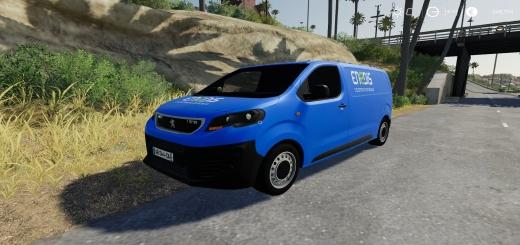 Photo of FS19 – Peugeot Expert Endis Van V1.0