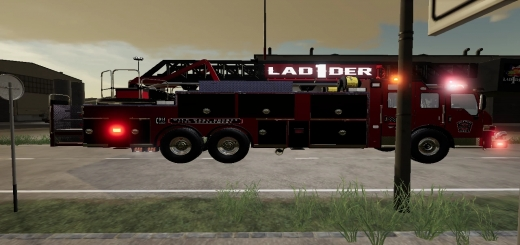 Photo of FS19 – Pierce Velocity Ladder V1.0