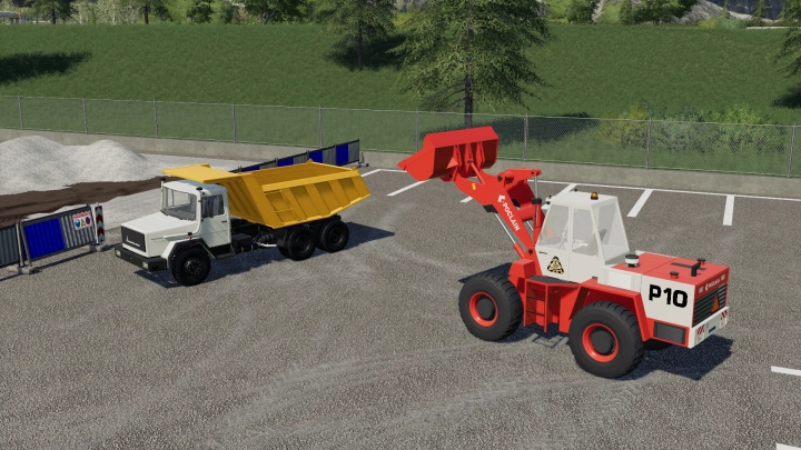 FS19 - Poclain P10 Wheel Loader V1