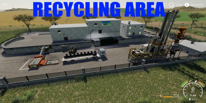 FS19 - Recycling Sell Point V1