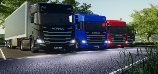 Photo of FS19 – Scania R Kofferpack V1.0