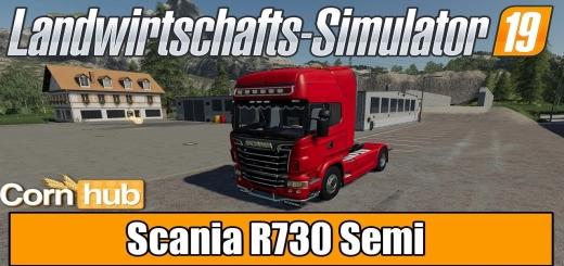 Photo of FS19 – Scania R730 Semi V1.0.0.6