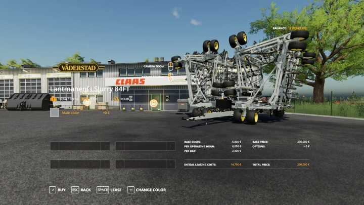 FS19 - Slurry Drill 25.5M V1.3