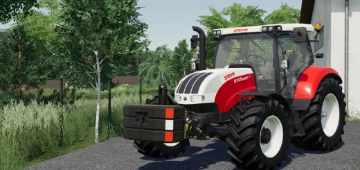 Photo of FS19 – Steyr Weight Pack V1.0