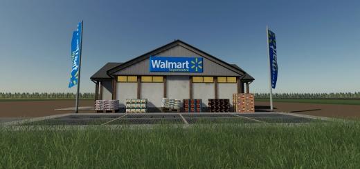 Photo of FS19 – Supermarket Walmart
