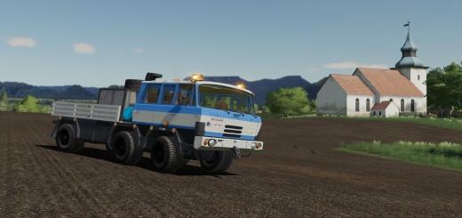 Photo of FS19 – Tatra 815 6X6 V1.0