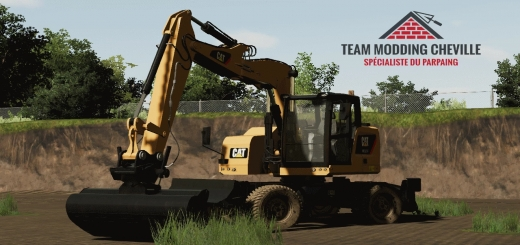 Photo of FS19 – Tmc Caterpillar M315F V1.0