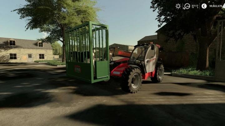 FS19 - Transport Cage V1