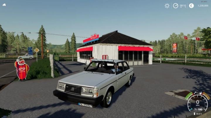 FS19 - Volvo 242 V1.0.0.1