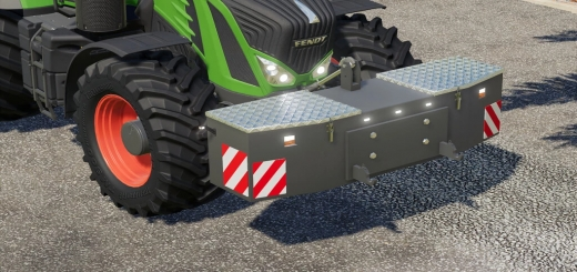 Photo of Weights 600-2400Kg V1.0 FS19