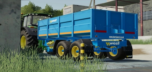 Photo of FS19 – West Trailers V1.0