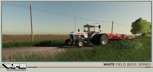 Photo of FS19 – White Field Boss Series 3 V1.1