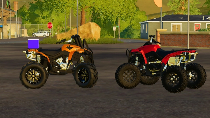 FS19 - 2014 Can Am Renegade V1.0