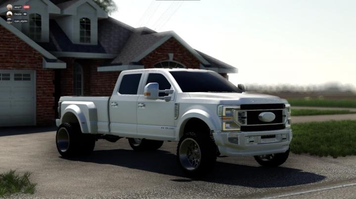 FS19 - 2020 F450 All White V1.0