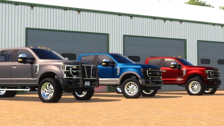 FS19 - 2020 Ford F-Series Edit V1.3