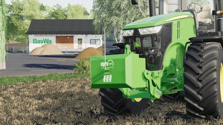 FS19 - Agropark Weight Pack V1.0