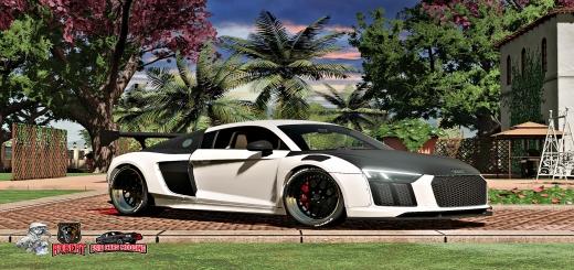 Photo of FS19 – Audi R8 Alpil Rsr V1.0