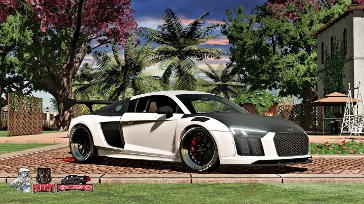 FS19 - Audi R8 Alpil Rsr V1.0