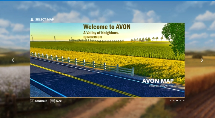 FS19 - Avon Map V1.4