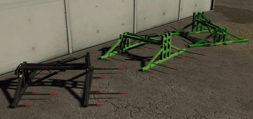 Photo of FS19 – Bale Fork With 3-Point Hitch V1.0