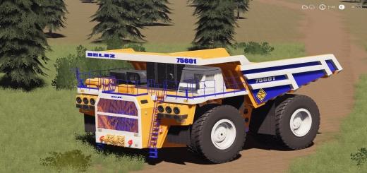 Photo of FS19 – Belaz 75601 Mining Truck V1.0