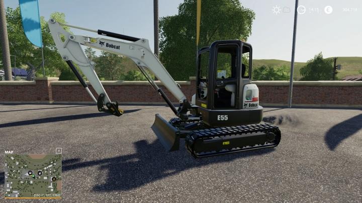 FS19 - Bobcat E55 V1.0