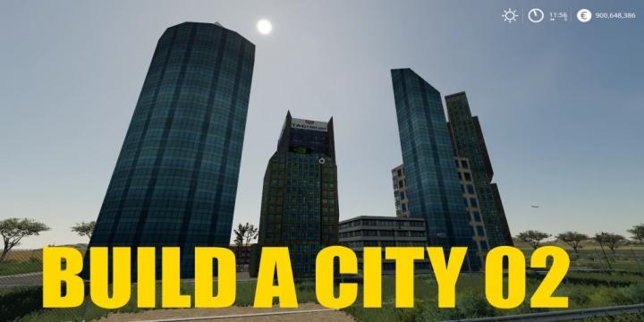 FS19 - Build A City 02 V1.0