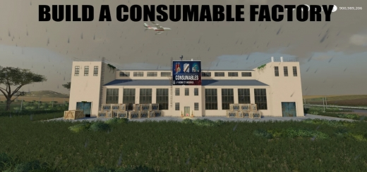 Photo of FS19 – Build A Consumables Factory V1.0