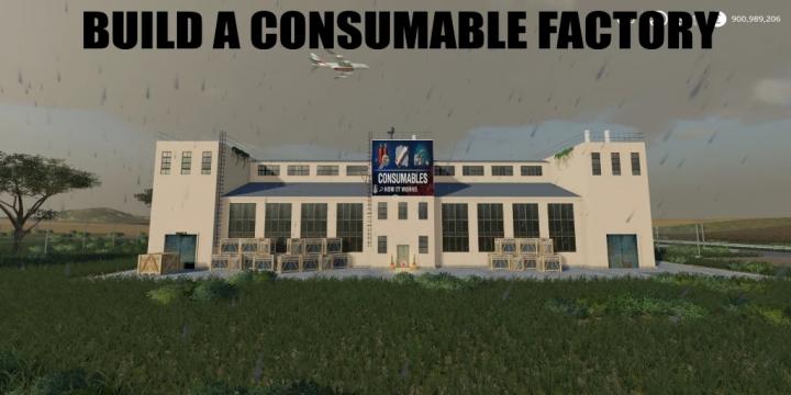 FS19 - Build A Consumables Factory V1.0
