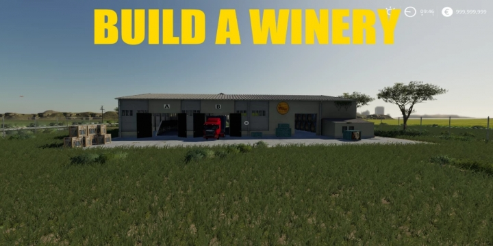 FS19 - Build A Winery V1.0