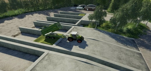 Photo of FS19 – Bunker Silo Set V1.2