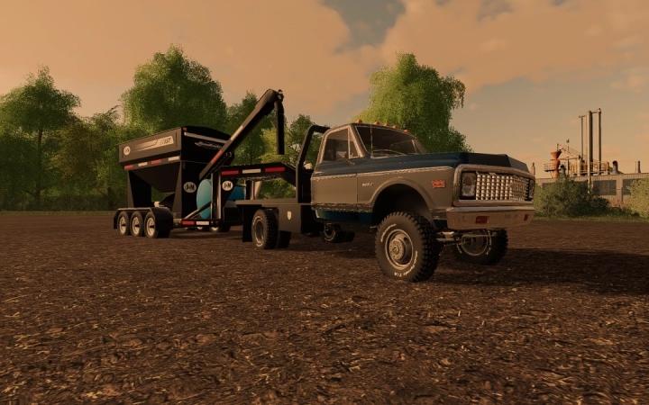 FS19 - C30 71 Chevy Flatbed V1.0