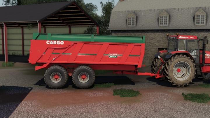 FS19 - Cargo Xp150 Trailer V1.0