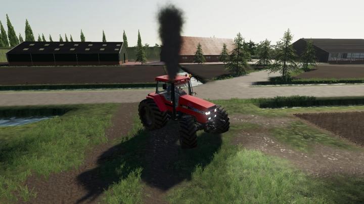 FS19 - Case 7250 With Smoke V1.0