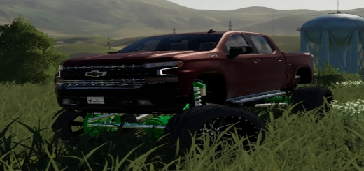 Photo of FS19 – Chevy Trail Boss Crazy Lifted V1.0