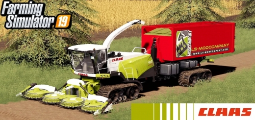 Photo of FS19 – Claas Jaguar 960 Tt-Hkl V1.0.4