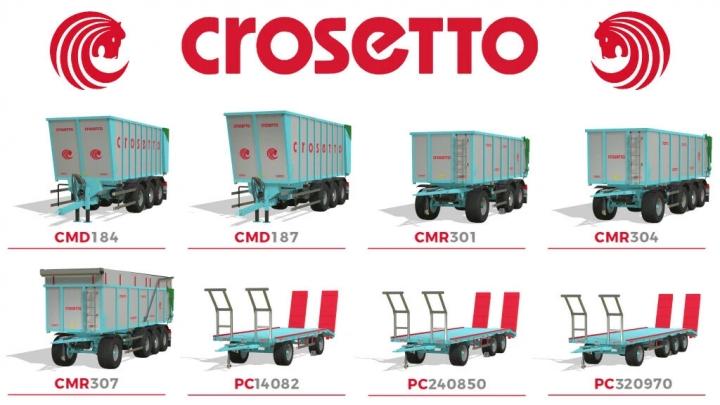 FS19 - Crosetto Pack V3.0