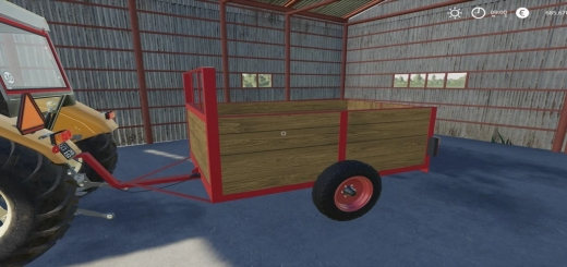 Photo of FS19 – Diy One Axle Trailer V2.0