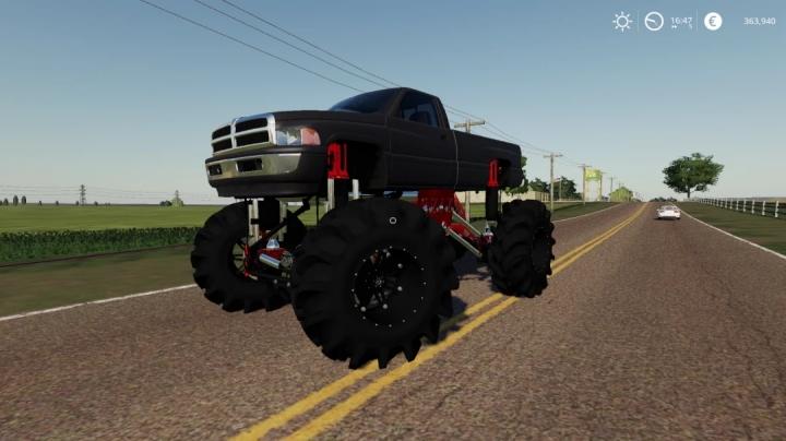 FS19 - Dodge Second Gen Monster Truck V1.0