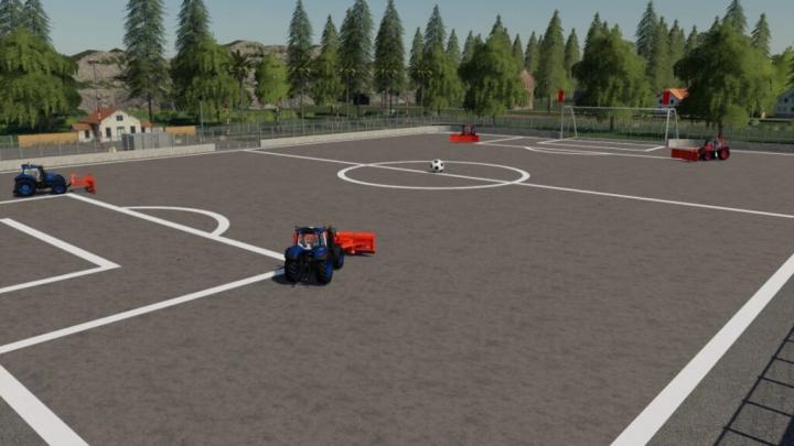FS19 - Farming Ball Stadium V1.0.0.1