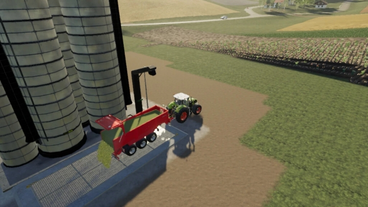 FS19 - Fermenting Silo With Digestate V1.0