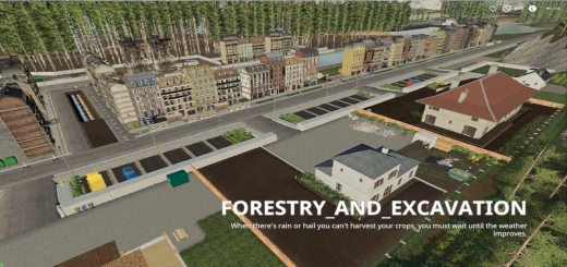 Photo of FS19 – Forestry And Excavation V1.0